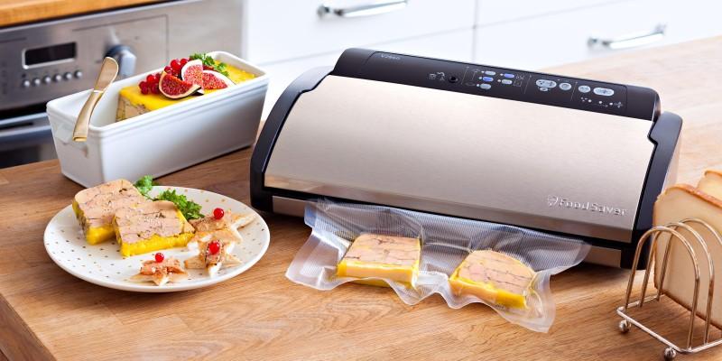 FoodSaver V2860: Ein Folienschweißgerät sogar für Kaffee oder Nüsse