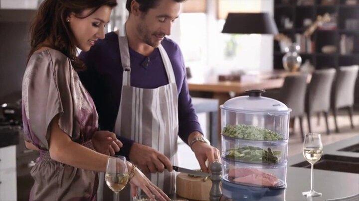 Philips Dampfgarer HD9140: Speisen schmecken super auch ohne Aromaaufsatz